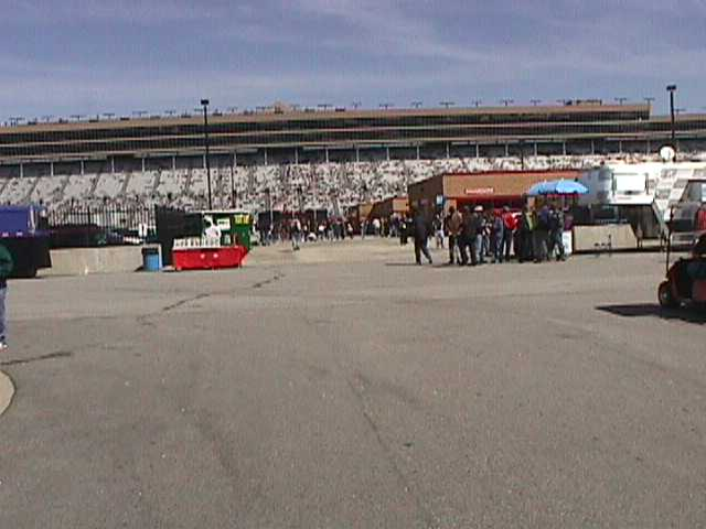 Hospitality Area Facing Towards Pits And Media Center